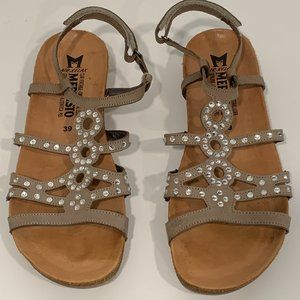 Mephisto Air-Relax Leather Sandals US 8.5 EUR 39
